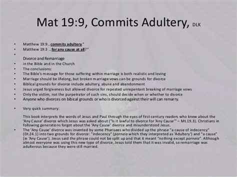 matthew  jesus  tested  divorce jesus