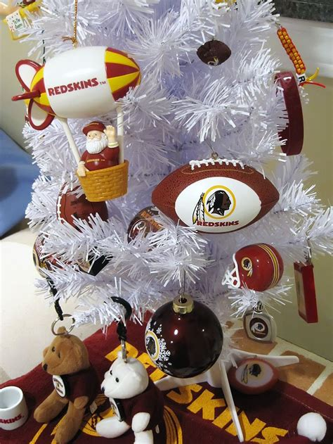 when do christmas decorations go up in washington dc redskins tree sports decorations trees football and