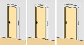 average door width single door arch door