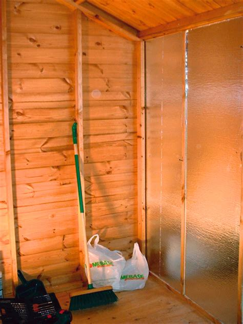 Insulation For Garden Shed by Converting A Garden Shed Into A Darkroom And