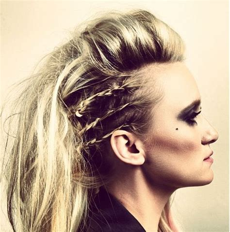 Rocker Hairstyles For Hair by Rocker Hair Concert Hair Smokey Braids And Volume