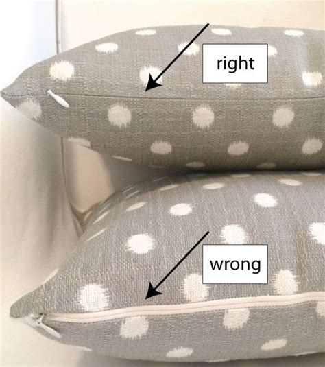 How To Sew Pillow Covers With Zippers by Tutorial For A Pillow Cover With A Invisible Zipper