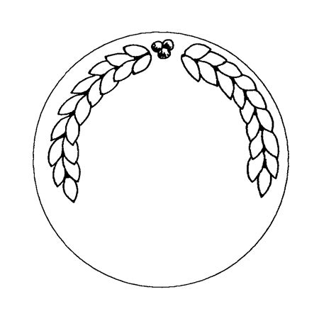 { Mormon Share } Border   Circle (Award)