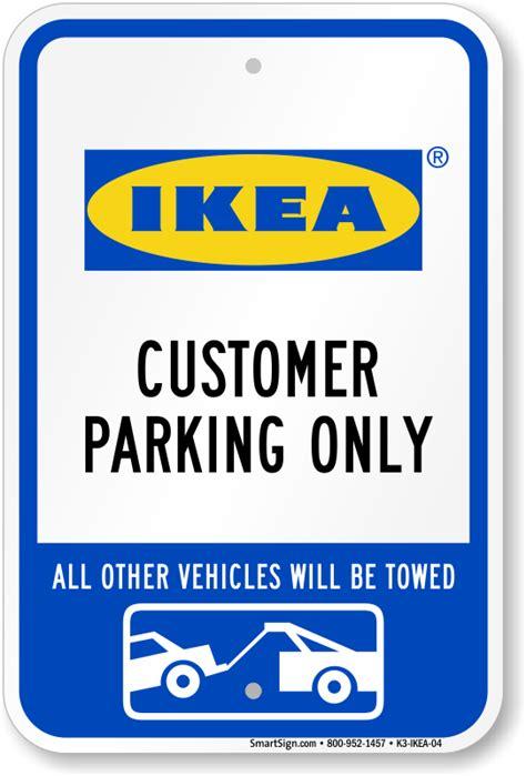 ikea parking ikea parking signs