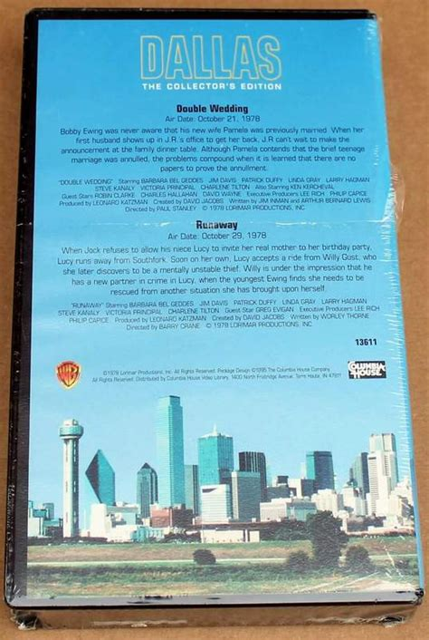 dallas  collectors edition columbia house vhs double
