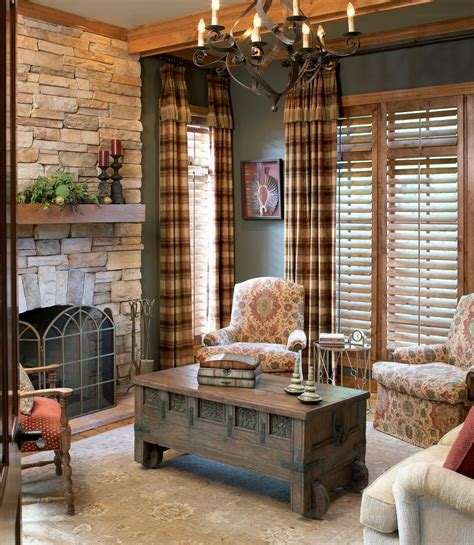 Plaid Curtains For Living Room Superb Plaid Curtains In Home Office Traditional With Curtains Next To Buffalo Check