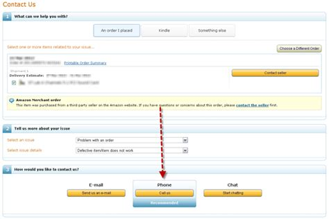 amazon uk contact amazon enforcing returns polices on 3rd party sellers