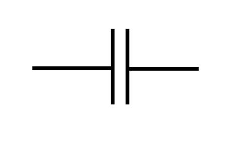 capacitor symbols clipart best