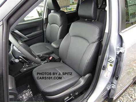 Subaru Forester Leather Interior by 2016 Subaru Forester Interior Photos