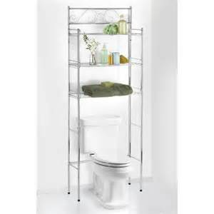 Bathroom Linen Shelves Verysmartshoppers Bathroom Linen Tower The Toilet Shelf With 3 Shelves In Chrome Finish
