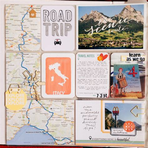 Scrapbook Travel Album Discover New Zealand by Images And Page By B Adding Maps To Tell The Story Of