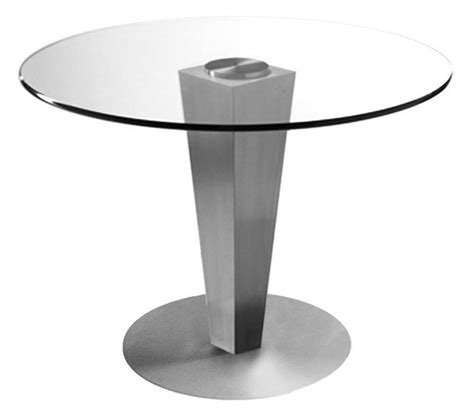 42 quot glass dining table from bellini modern