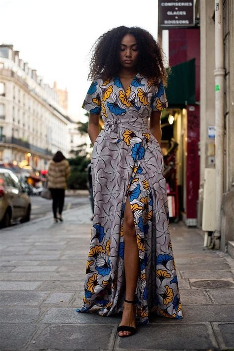 Simple Ankara Long Gown Styles For Ladies
