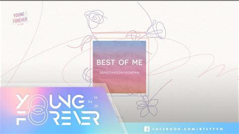 bts best of me vietsub engsub bts 방탄소년단 best of me youtube