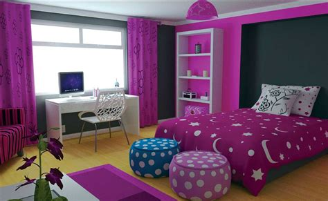 bedroom themes for teenage girl