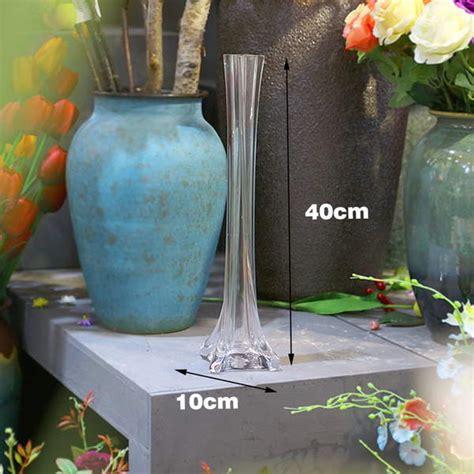 12 Vases In Bulk by Bulk Lot 12 X Clear Glass Eiffel Tower Vases Wedding