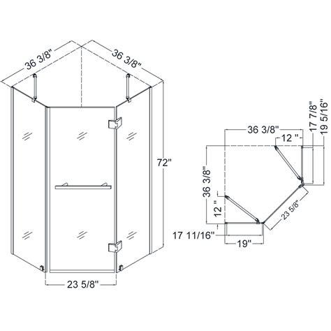 corner shower bench dimensions dreamline showers prism x hinged shower enclosure