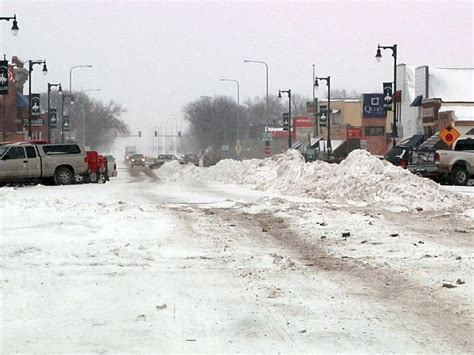 snow in south central south dakota receives more snow