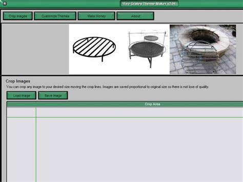 theme creator tool screenshot review downloads of freeware fire grates