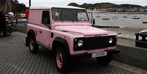 land rover pink pink land rover flickr photo