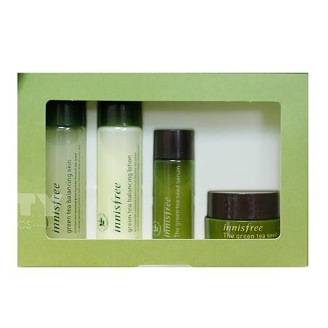 Harga Innisfree Green Tea Special Kit bá dæ á ng da innisfree green tea special kit gi 225 tá t