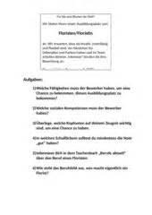 Anschreiben Bewerbung Zeitungsanzeige 4teachers Lehrproben Unterrichtsentw 252 Rfe Und Unterrichtsmaterial F 252 R Lehrer Und Referendare