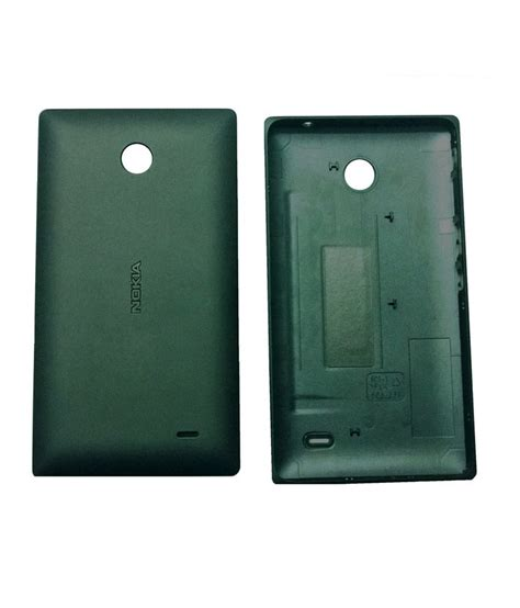 Nokia X Flip Cover nokia back cover for nokia x black available at snapdeal