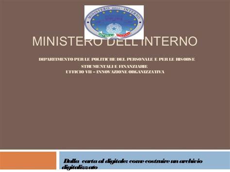 ministero dell interno forum dalla carta al digitale ministero dell interno forum pa