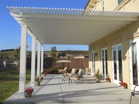 alumawood patio cover exle five lattice shade structures for sale