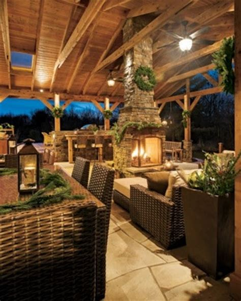 cool outdoor spaces best outdoor living rooms the industrial look of