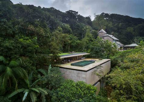 studio mk27 developed this amazing jungle house in the