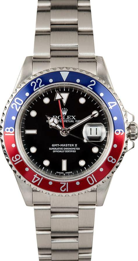Jam Replika Rolex Gmt Master Ii Black Pepsi Swiss Eta 1 1 pepsi rolex gmt master ii 16710
