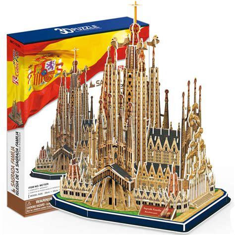 Puzzle 3d By Cubic puzzle 3d sagrada fam 237 lia cubic mc153h 194 pi 232 ces