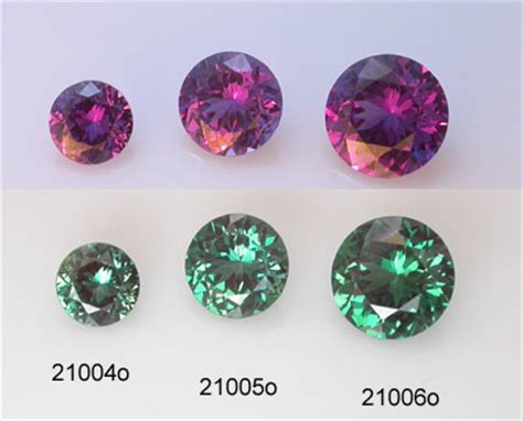 Colorchange Hackmanite 6 30 Ct alexandrite gemstones faceted from lab grown synthetic