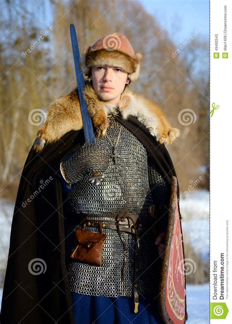 Russian warrior honorable woman