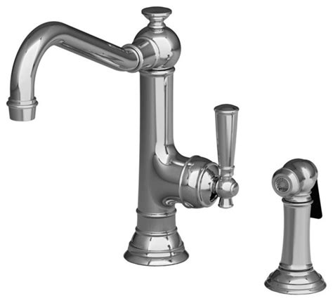 Newport Brass Jacobean Kitchen Faucet by Newport Brass 2470 5313 Jacobean Single Handle Kitchen