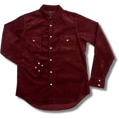 Corduroy Shirt pop boutique soft micro cord sleeve corduroy shirt