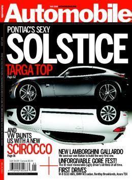 Auto Zeitschriften by Automobile Magazine