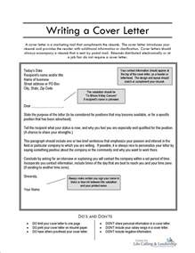Write My Cover Letter by Cover Letter Sles