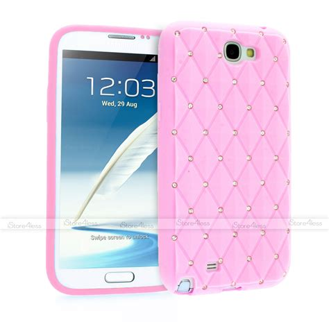 sparkle crystal diamond bling soft silicone case for