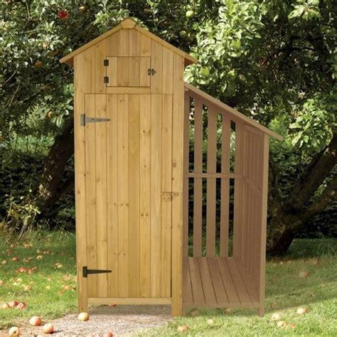 brundle gardener garden tool shed  log store garden