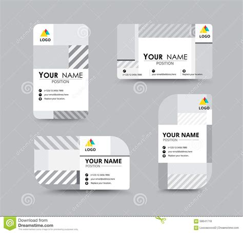 Chrome Extension To Make Business Card Template by Mono Chrome Business Card Template Design Vector Stock