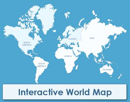 interactive world map map plugins