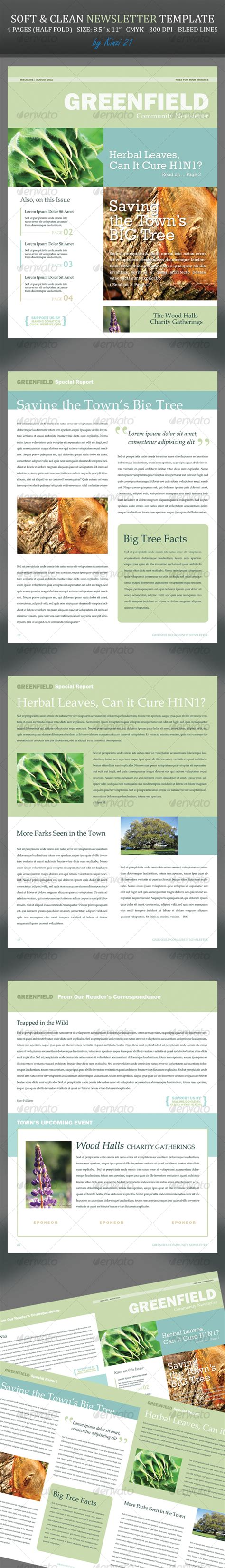 35 newsletter print templates sixthlifesixthlife