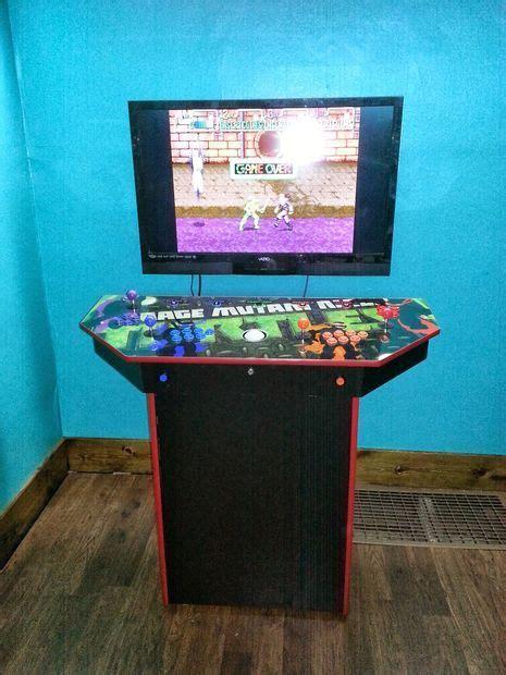 4 player arcade cabinet 4 player pedestal arcade cabinet for mame arcade