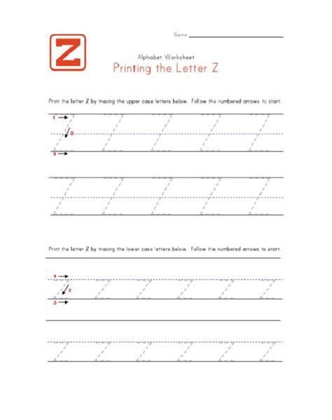 letter z worksheet 100 kindergarten z worksheets set z print handwriting worksheet exle this is an