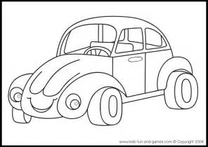 Coloring Pages For Transportation  Top sketch template