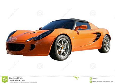 orange sports orange sports car stock photo image 1495600