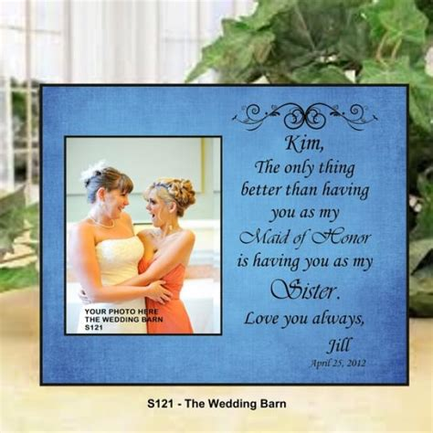 bridal shower gifts from matron of honor wedding gift of honor gift matron of honor gift bridesmaid gift personalized