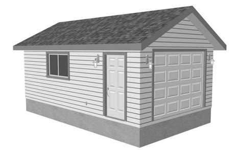 garage drawing 9 free plans for building a garage